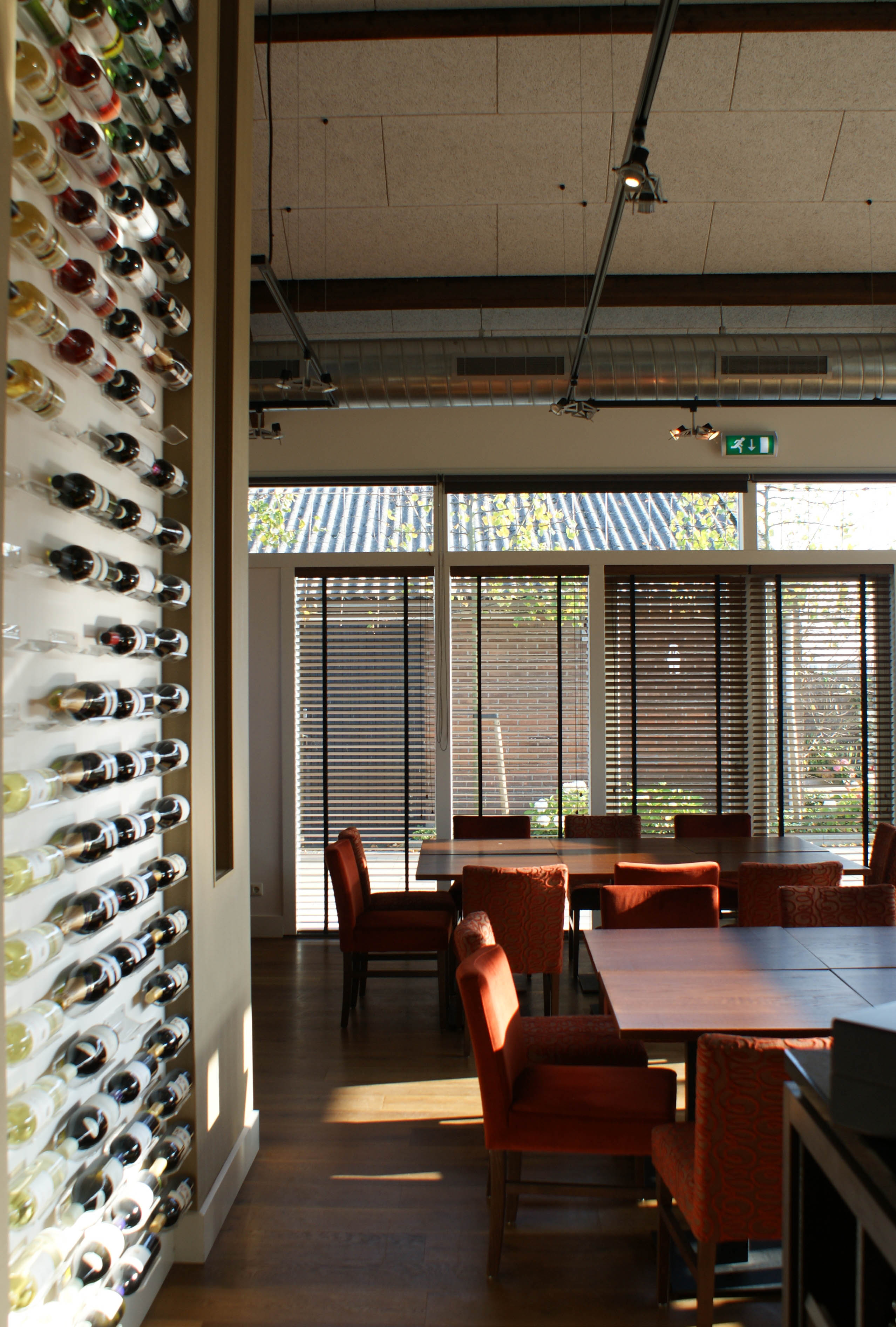 restaurant in hooiberg interieur